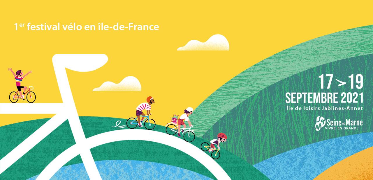 Affiche officielle Vélo en Grand 2021