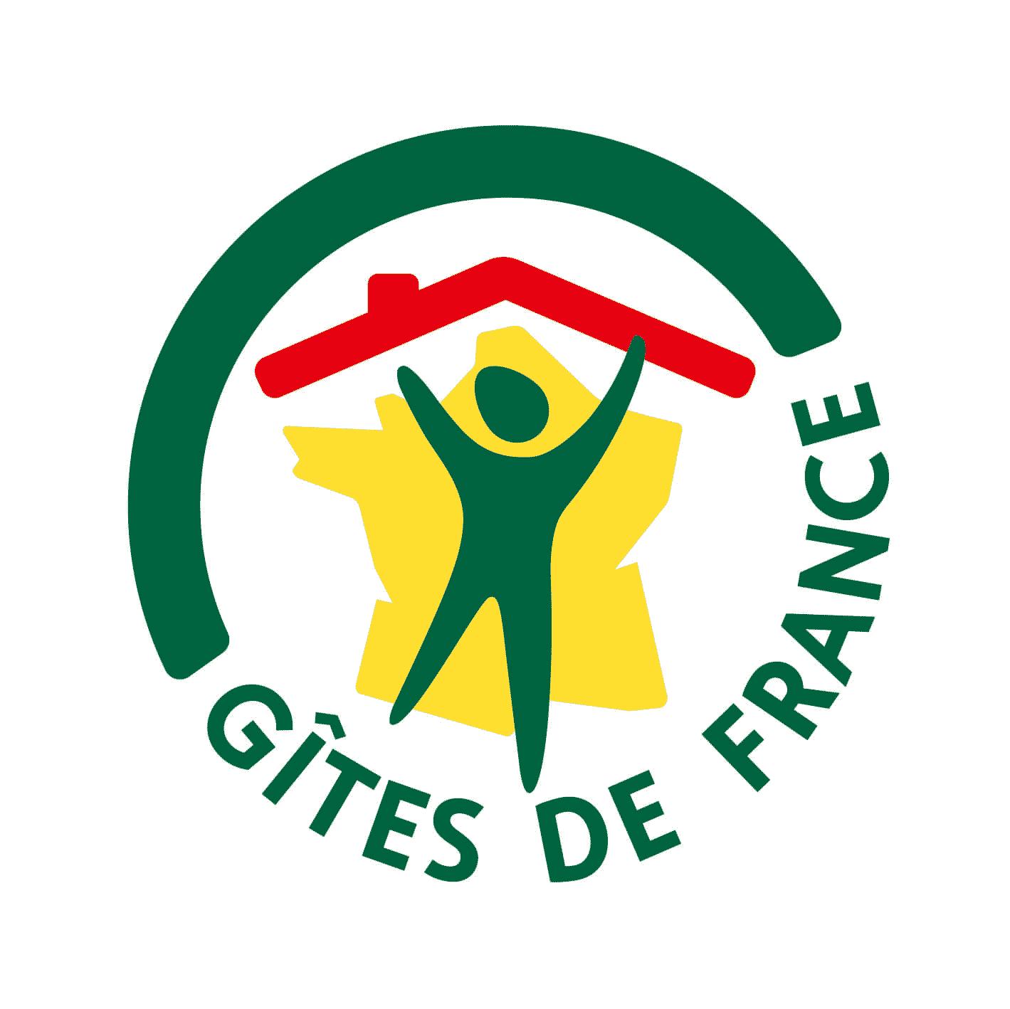 Logo gîtes de France vélo en grand