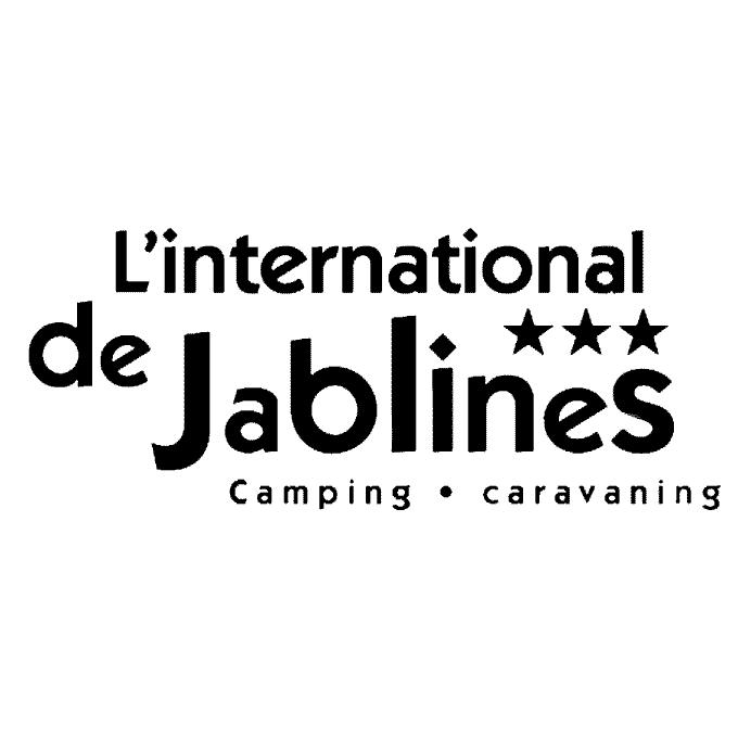 Logo camping l'international de Jablines Annet Vélo en Grand