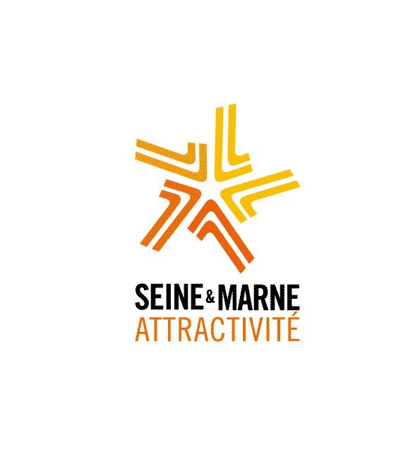 Logo Seine et Marne attractivité Velo en Grand
